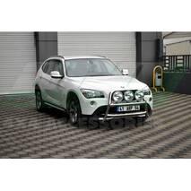 Кенгурятник WT018 (нерж.) - BMW X1 E-84 2009-2015 гг. купить в Ровно
