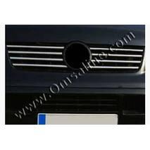 Накладки на решетку (нерж.) - Opel Vectra B 1995+ гг. купить в Ивано-Франковске