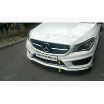 Накладка на решетку бампера (нерж.) - Mercedes CLA 2013+ гг. купить в Черновцах