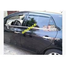 Toyota Auris молдинг стекол Carmos 4 шт., нерж. купить в Кропивницком