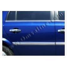 Накладки на ручки (4 шт., нерж.) - Opel Vectra C 2004+ гг. купить в Сумах
