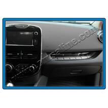 Накладка на переднюю консоль (нерж.) - Renault Clio IV 2012+ гг. купить в Харькове