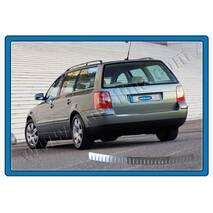 Volkswagen Passat B5 SW накладка на задний бампер глянцевая OmsaLine купить в Ужгороде
