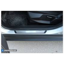 Накладки на пороги (4 шт.) - Audi A1 2010+ гг. купить в Кропивницком