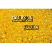 (16386.10.0) Бисер перламутровый желтый