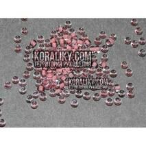 (38395.10.0) Бисер прозрачный с розовой серединкой