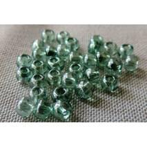 (48055.06.0) Бисер 6/0 прозрачный перламутровый серо-зеленый