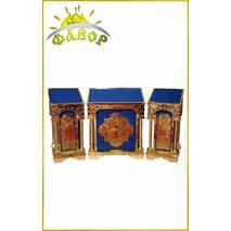 Комплект аналоев (чеканка на бархате)