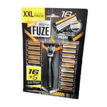 Станок для бритья Body-X Fuze + 21 кассета Нидерланды