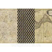 Набор з 3х видів паперу для декупажа - Olde Worlde