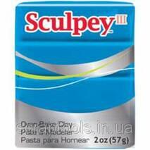 Полимерная глина SCULPEY III Turquoise (715891115053)
