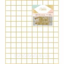 Органайзер сітка Crate Paper Wire System Grid Panel - Gold