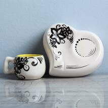 Декоративний кавовий комплект