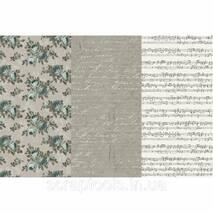 Набор з 3х видів паперу для декупажа - Victorian Romance
