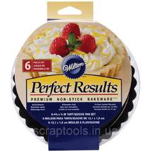 Форма для випічки Wilton Perfect Results Tart/Quiche Pans Антипригарна 6 шт (70896258175)