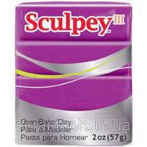 Полимерная глина SCULPEY III Violet (715891115152)