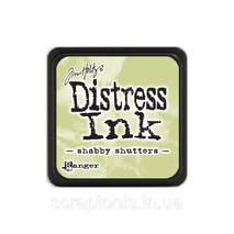 Подушечка с чернилами Ranger Tim Holtz Distress Mini Ink Pad 3х3 см Shabby Shutters (789541040163)