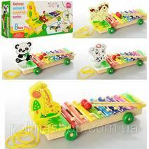 Дерев'яна іграшка Ксилофон 3057