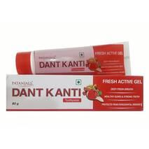 Зубная паста гель натуральная с Гранатом Дант Канти Патанджали 80г