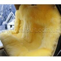 Авточехол из Новозеландской овчины (желтый)