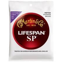 MARTIN MSP7050 SP Lifespan 92/8 Phosphor Bronze Custom Light (11-52)