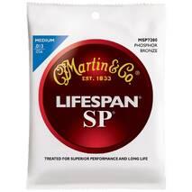 MARTIN MSP7200 SP Lifespan 92/8 Phosphor Bronze Medium (13-56)