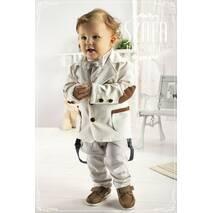 Модный детский трикотажный пиджак, арт YM001 (Krasnal, Польша)