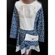 Купити оптом дитячі сукні з сумочкою.