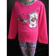 Купити оптом піжами для дівчаток дитячі.