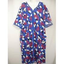 Женские халаты с коротким рукавом на молнии купить