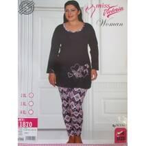 Турецькі піжами великого розміру для жінок.