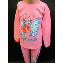 Красиві байкові піжами для дівчаток