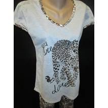 Женские пижамы футболка с бриджами.