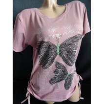 Жіночі футболки з метеликами недорого купити