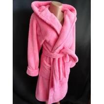 Купити оптом махрові халати з капюшоном.