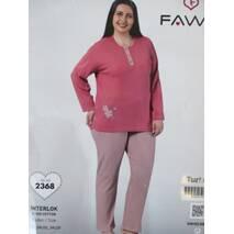 Пижамы интерлок большого размера.
