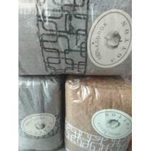 Однотонные  махровые полотенца оптом.