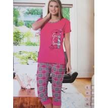 Жіночі піжами з бавовняної тканини