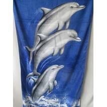 Купить оптом пляжные полотенца