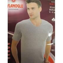 Купить оптом футболки серого цвета мужские.