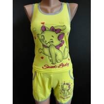 Купить яркие костюмчики на лето с рисунком.