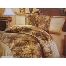 Купить двухспальное атласное постельное бельё оптом