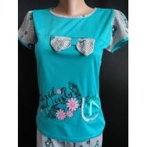 Женские пижамки летние с бриджами купить оптом