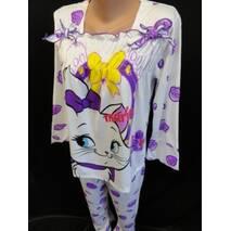 Купить оптом пижамы трикотажные с рисунком.