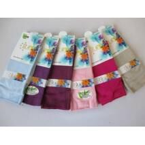 Женские цветные носки бамбук.