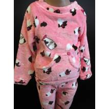 Для дівчаток махрові піжами на зиму.