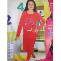 Бавовняні піжами для дівчаток.