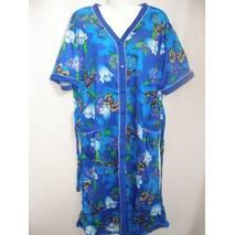 Летние женские халаты больших размеров купить дёшево