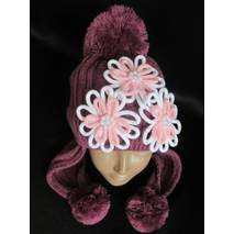 Купить красивые шапочки для девочек.