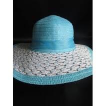 Плетений капелюх жіночий літній